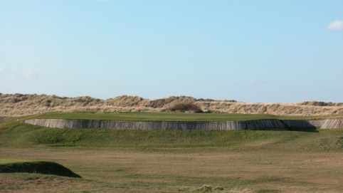 Brancaster 5th hole